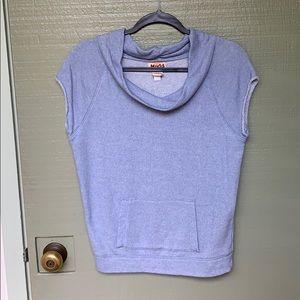 MUDD- size medium 80's themed blue shirt